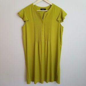 Nine West lime green shift dress Sz 12